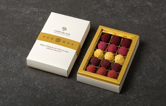 Bonboniéra Fruit Truffles Collection 15 (160g)
